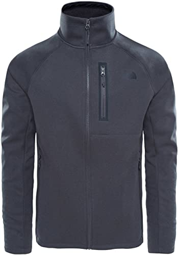 North Face M Canyonlands Soft Shell Jacket Veste, Homme, gris (TNF Dark gris Heather)
