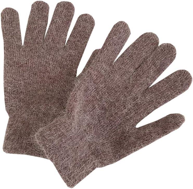 Tourequi Womens Soft Gloves Ladies Winter Warm Knitted Gloves