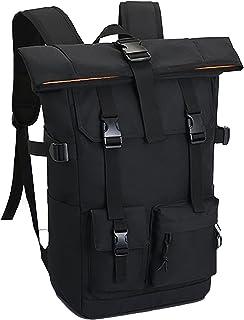 オックスフォードバックパック (4カラー) 防水 メンズ バックパック スクエア リュックサック 防水13インチ PC タブレット ラップトップバック 大容量 靴/弁当収納 アウトドア 旅行 多機能通気性 A4収納ポケット 男女兼用
