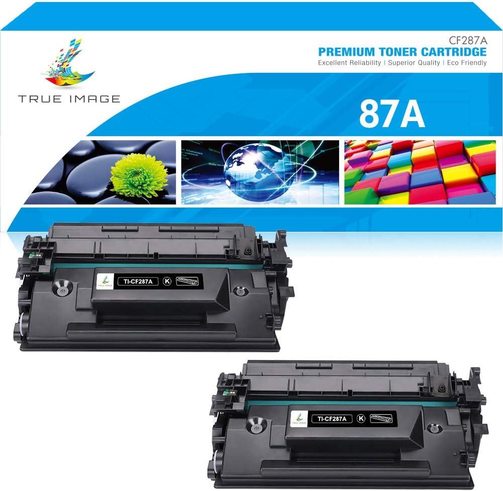 True Image Compatible ブランド買うならブランドオフ Toner Cartridge 品質検査済 Replacement 87A for CF2 HP