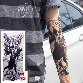 tzxdbh 3pc Nuevas Medias de Brazo de Manga de Tatuaje Estiramiento ...