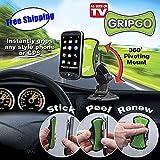 GripGo Hands Free Phone Mount in Black