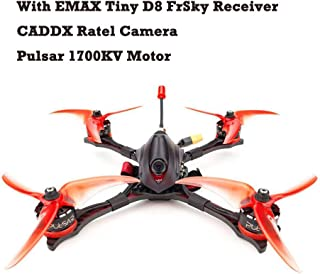 EMAX Hawk 5 Pro RC Quadcopter 5inch 6S FPV Racing Drone BNF Frsky D8 Receiver with 1700KV Motor