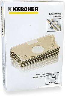 Kärcher pappersfilterpåsar, 5 st