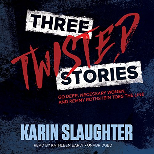 Page de couverture de Three Twisted Stories