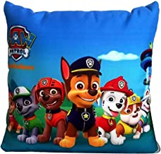 Amkei Paw Patrol Blue Pillow Blanket, Kids Huggable Pillow and Blanket Perfect for Pretend Play, Travel, nap time, for Home Office Car Air Conditioned Room Nap Time Pillow Blanket 2 in 1