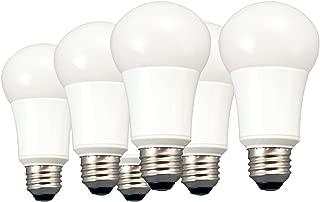 TCP 40 Watt LED A19, 6 Pack, Soft White, Non-Dimmable Light Bulbs