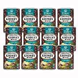 Eden Organic Red Kidney Beans, 15 oz Can, No Salt, Non-GMO, Gluten Free, Vegan, Kosher, U.S. Grown, Heat and Serve, Macrobiotic, Red Beans (12-Pack)