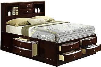 Cambridge Orleans Storage Bed, Queen, Cherry