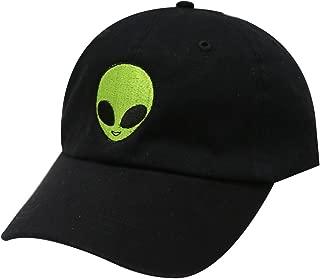 C104 Big Alien Cotton Baseball Dad Caps 14 Colors