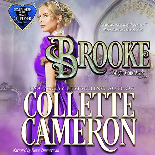 Brooke: Wagers Gone Awry audiobook cover art