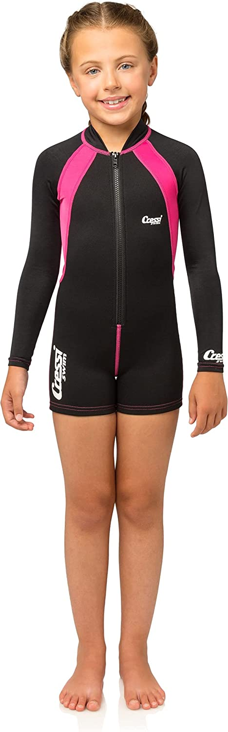Cressi Kids Max 75% OFF Swimsuit in Neoprene 1.5mm for Girls High order 2 1 and to Boys