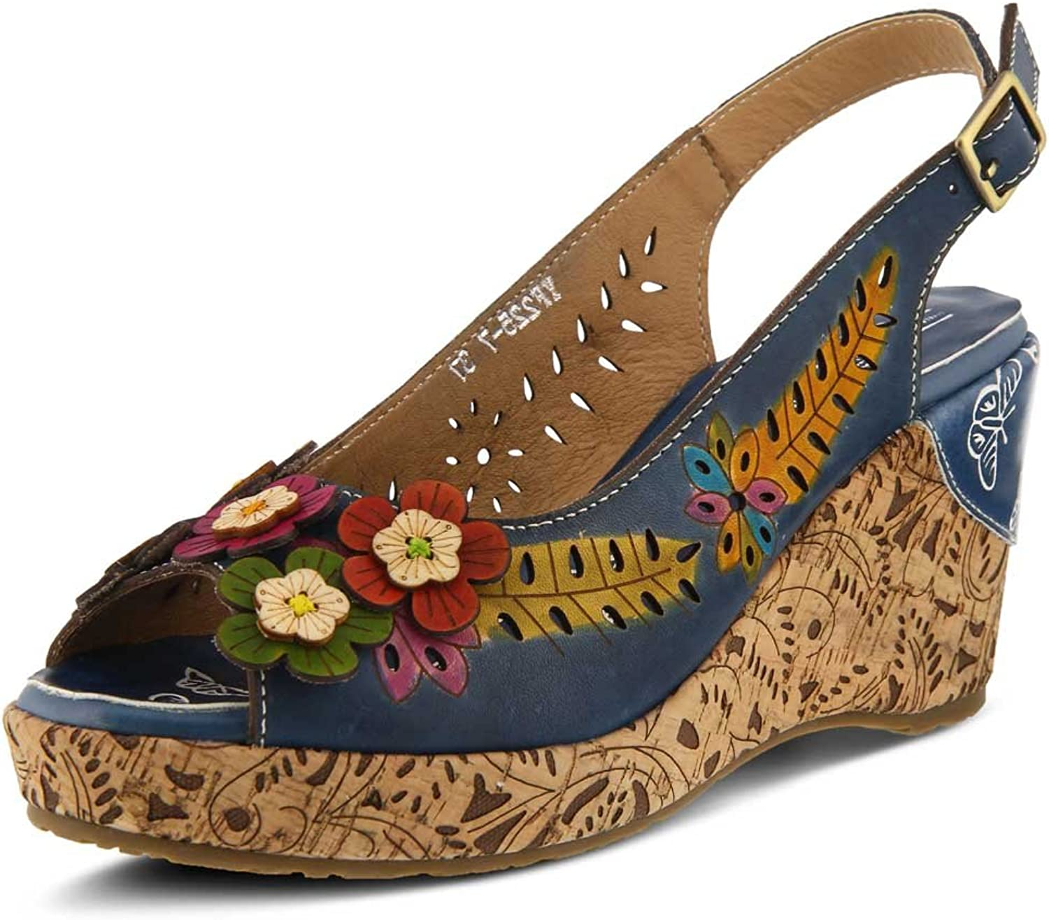 L'ARTISTE by Spring Step Women's Style Tuttifrutti Leather Sandal