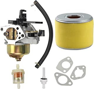 Harbot 16100-ZF6-V01 Carburetor with 17210-ZE3-505 Air Filter Gas Fuel Tank Joint Filter for Honda GX340 GX390 13HP 11HP 1...