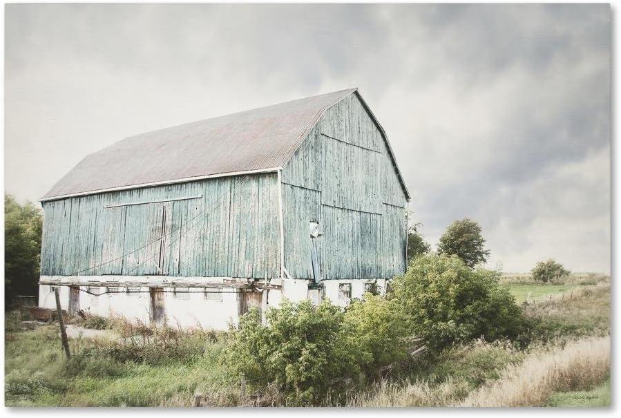 Late Summer Barn I Crop by Elizabeth Urquhart, 30x47-Inch Canvas Wall Art