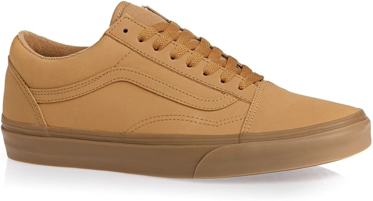 Vans Mens Old Skool VANSBUCK Light Gum Mono Size 7