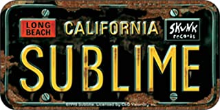 Lou Dog on Black with Long Beach California Decal Sticker Sublime
