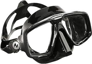 ダイビングマスク AQUALUNG/アクアラング LOOK HDマスク ブラックシリコーン 二眼 水中メガネ