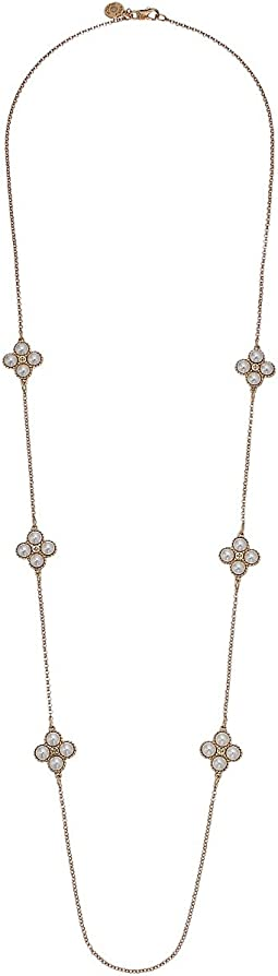 Tory Burch - Rope Clover Rosary Necklace
