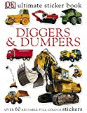 Ultimate Diggers Dumpers Sticker Book (Ultimate Stickers)