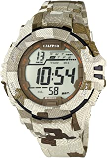 Reloj Digital para Hombre de Cuarzo con Correa en Caucho K5681_2