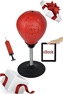 Dyfro Stress Relief Desktop Punching Bag | Boxing Ball for Office | Desk Toy for Women and Men | Gift Idea for Stress Relief| Great Punch Therapy| Funny Gifts for Friends