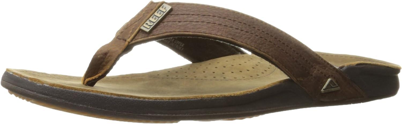REEF Men's Sandals Super-cheap J-Bay III Premium Mens Grain Leather Classic Full S