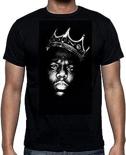 Egoteest Biggie Smalls Shirt - Notorious Big Shirt - Hip Hop Legend Rappers - It was All a Dream - Biggie Crown Shirt - Black
