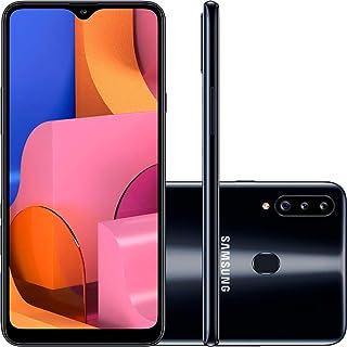 "Smartphone Samsung Galaxy A20S 32Gb Dual Chip Android 9.0 Tela 6.5"" Octa-Core 1.8 Ghz 4G Câmera Tripla 13.0 Mp + 5.0 Mp + ..."