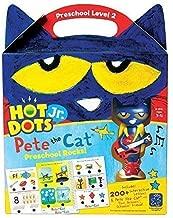 Educational Insights Hot Dots Jr. Pete The Cat Preschool Rocks! Set