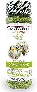 Satoru Ajonjoli de Color Verde, Característico, 75 Gramos
