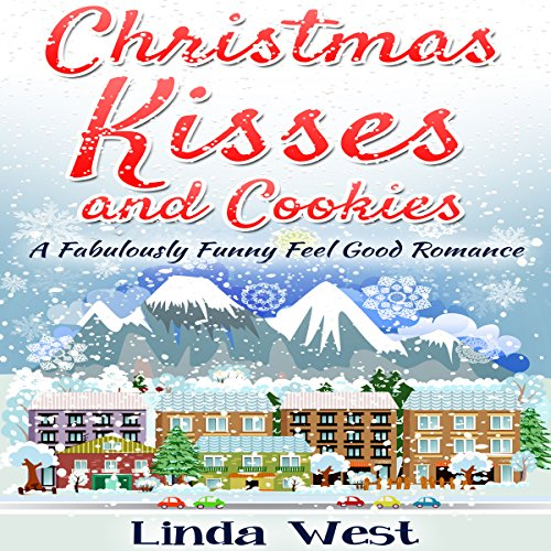 Christmas Kisses and Cookies audiobook cover art