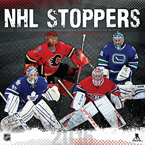 NHL Stoppers 2016 Wall Calendar by Trends International (2015-08-01)