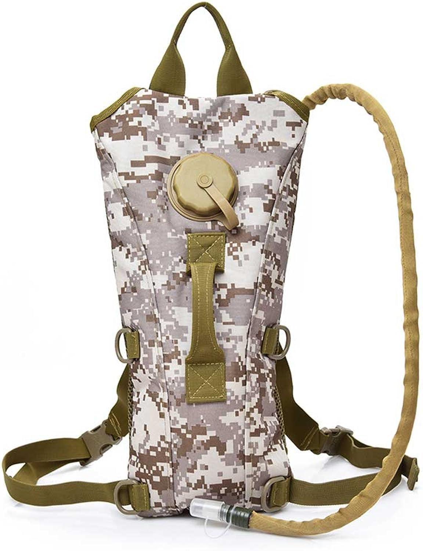 Ende der Wüste Outdoor Bag Camouflage Reiten Sport Wasserbeutel Outdoor Multifunktions Wasserbeutel 3L mit Wasserbeutel
