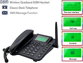 Desktop Wireless GSM Unlocked Telephone Full Size Cell Phone with SMS FM Radio Function Sourcingbay M281 Bright 2.4