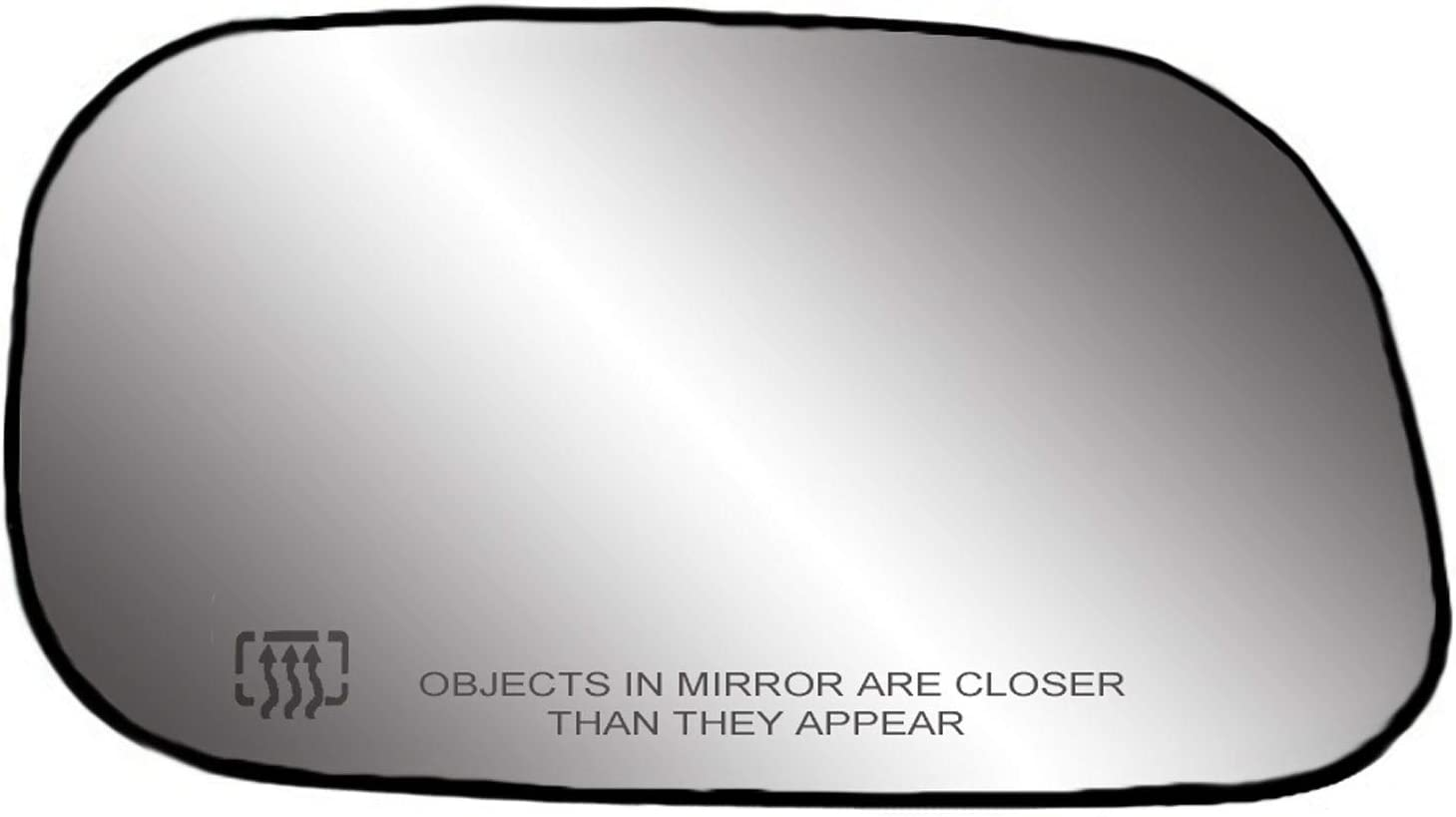 K Source cheap - Purchase Passenger Side Plate with Mirror Backing Glass
