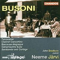 Busoni: Tanzwalzer / Concertino / Berceuse Elegiaque (2002-04-23)