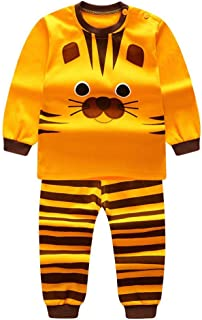 eab58635becbc Qlan Enfants Filles Garçons Pyjamas Set Vêtements de Nuit Vêtements de Nuit  Pyjamas Costume 0-