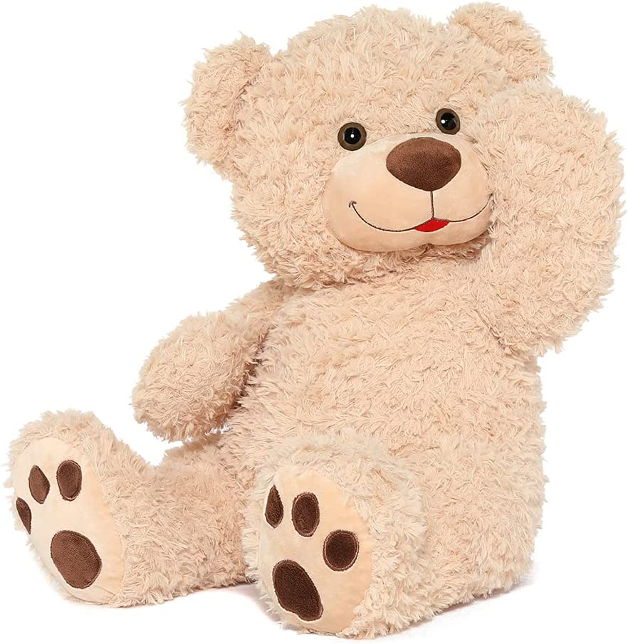 Tezituor Safety and trust Small Tan Teddy Bear B Cute Denver Mall Stuffed Animal Cuddly