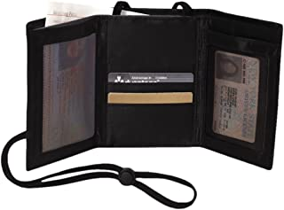 Swiss Gear RFID Protection Airport Id And Ticket Wallet,Black,One Size