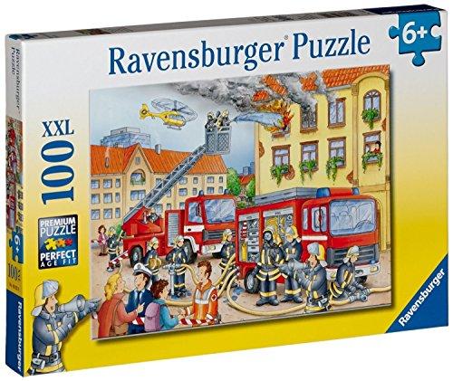 Ravensburger Kinderpuzzle 10822 - Unsere Feuerwehr - 100 Teile
