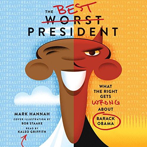 The Best Worst President audiobook cover art
