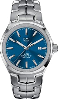 TAG Heuer - Link Calibre 5 reloj automático de los hombres esfera azul WBC2112.BA0603