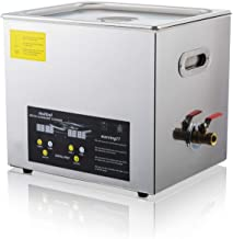 Ultrasonic Cleaner 10L Sonic Ultrasonic Jewelry Denture Parts Cleaner with Digital Timer Heater Control