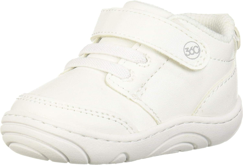 Stride Rite Ranking TOP15 360 Unisex-Baby SR Nippon regular agency Taye 2.5 2.0 White Sneaker US M
