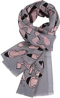 100% Wool Scarves for Women, WAMSOFT Ladies Large Soft Winter Cashmere Pashmina Scarf Shawl Wrap