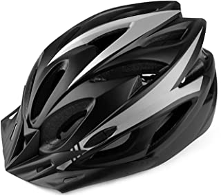 MOKFIRE Bike Helmet for Adults Men Women with Taillight & Detachable Visor, Bicycle Cycling Helmet for Road Biking with Ad...