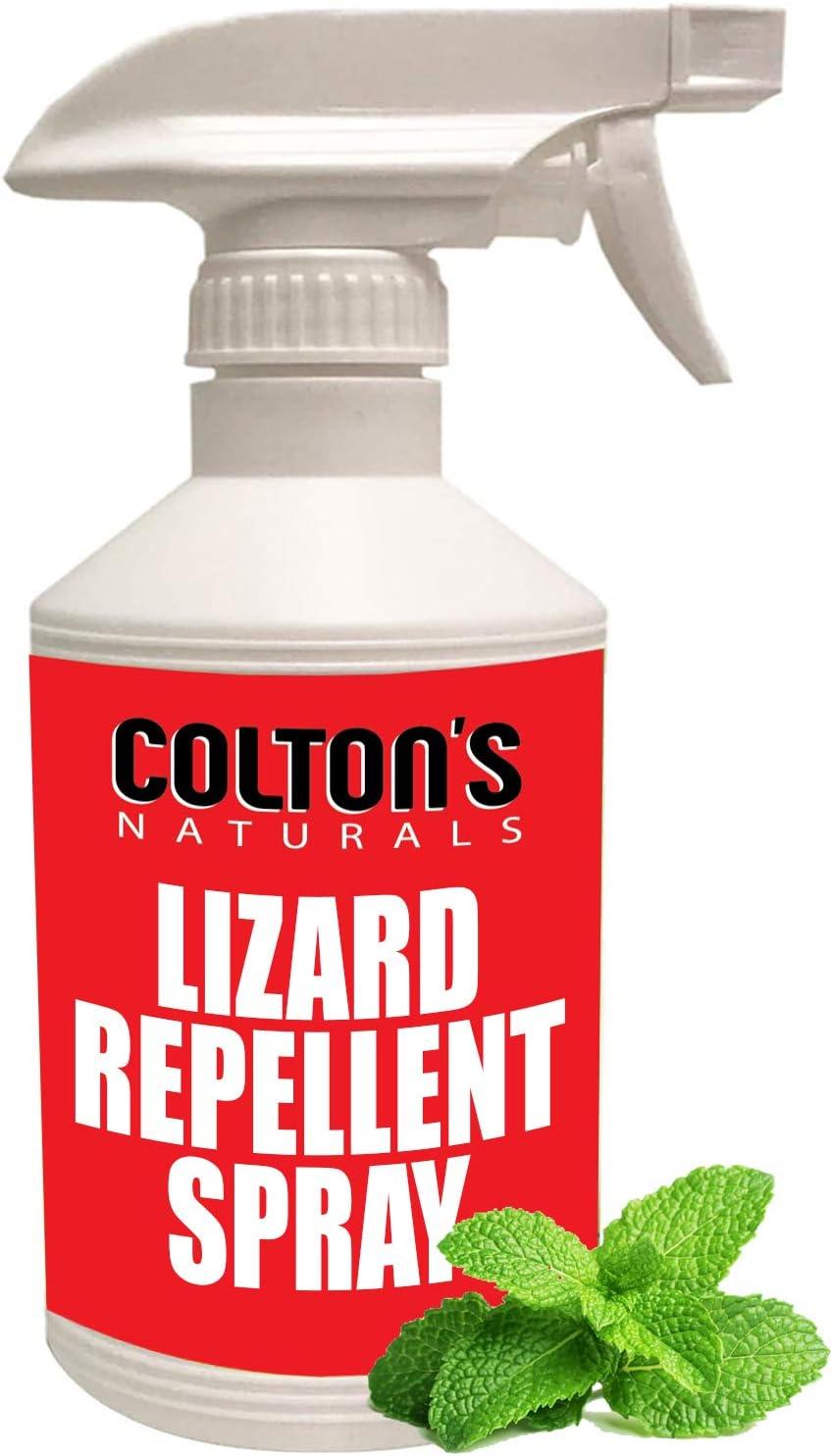 Lizard Repellent 32 OZ Spray Max 77% OFF Natural Gecko Complete Free Shipping Reptile 100% Deterren