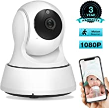 AIMECOR Baby Monitor, WiFi Camera, Pet Camera 1080P, 2.4G Wireless IP Camera, Home Security Camera, IR Night Vision, Two-Way Audio, Motion & Sound Detection Compatible with iOS & Android