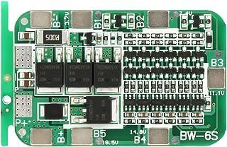 Hyuduo 6S 15A 22V 24V Beschermende printplaat lithium lader PCB BMS-beschermplaat overbelasting/overbelasting/kortsluiting...